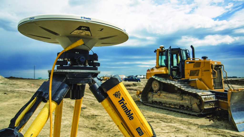 GPS technology is playing a greater part in earthmoving and construction.