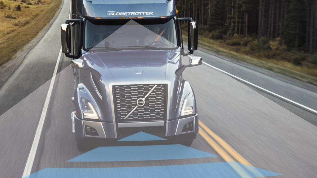 """The Volvo Active Driver Assist technology we first introduced with Bendix Wingman Fusion in 2017 was a groundbreaking achievement for increased efficiency and safety through automation,"" said Johan Agebrand, product marketing director, Volvo Trucks North America."
