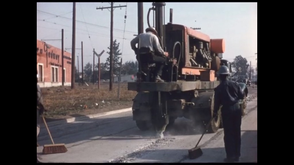 Watch this: 1950s construction equipment put to work
