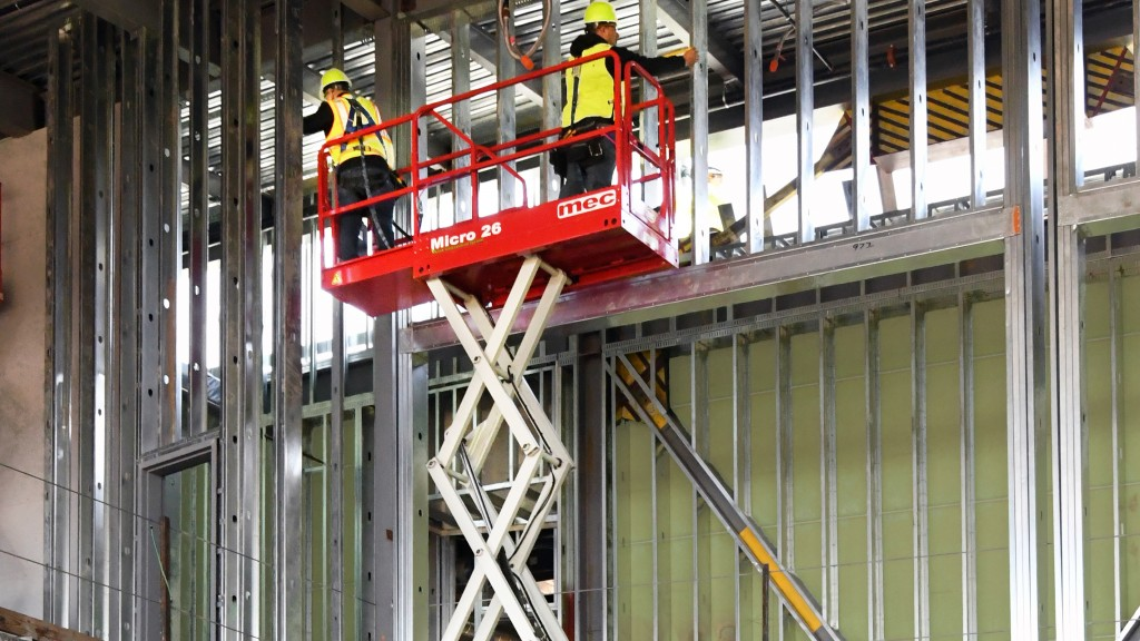 MEC's Micro 26 is an innovative alternative to traditional scissor lifts. Like the 1330SE and Micro 19 micro scissors, the Micro 26 features a micro footprint.