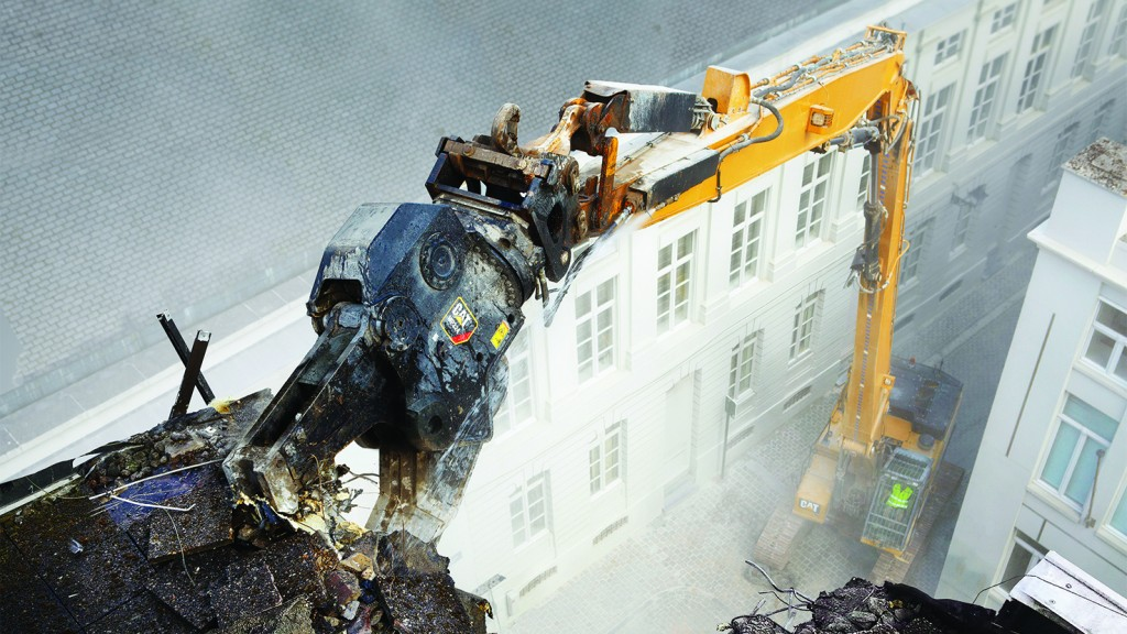 Caterpillar multi-processors for a variety of specialized demolition tasks