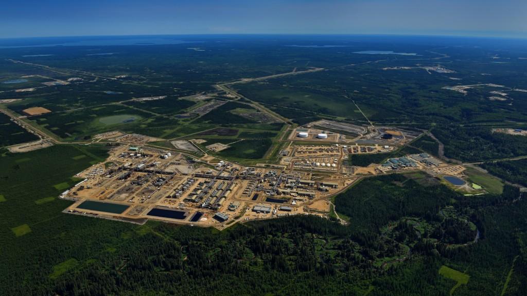 Christina Lake oil sands facility