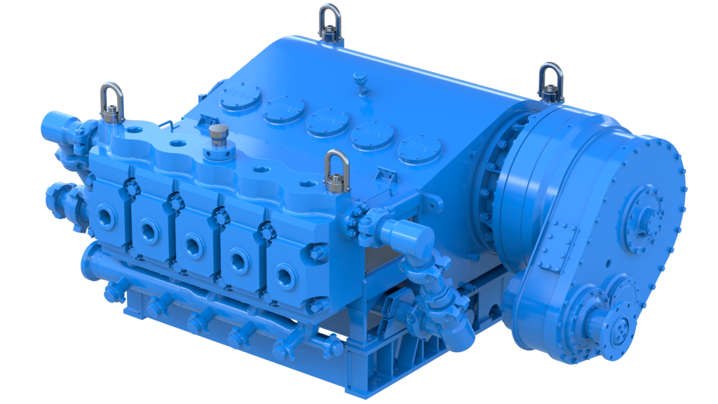 Weir introduces 5000-hp pump for electric or gas turbine driven