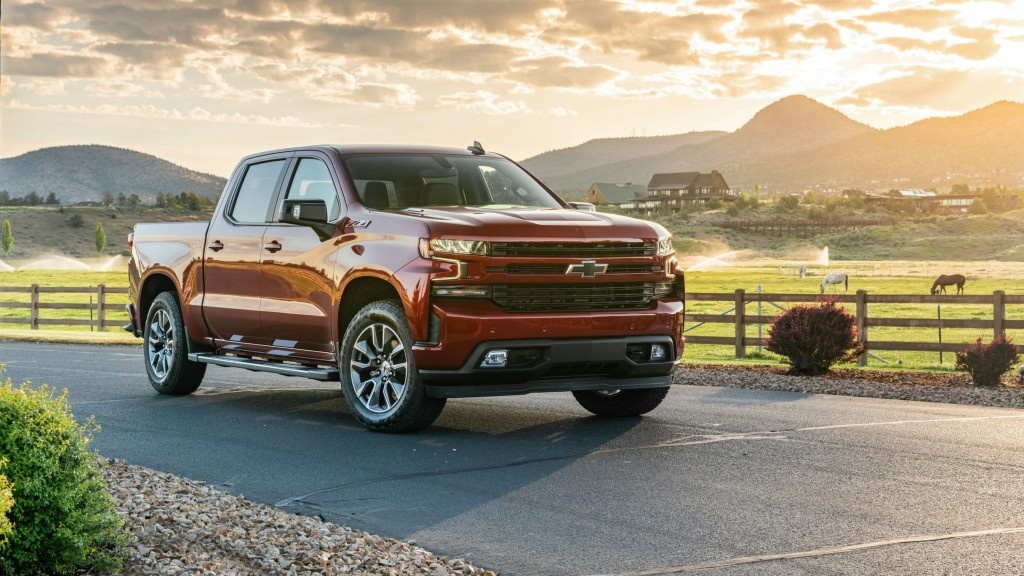 Chevrolet's 2020 Silverado equipped with a Duramax diesel engine delivers high fuel economy.