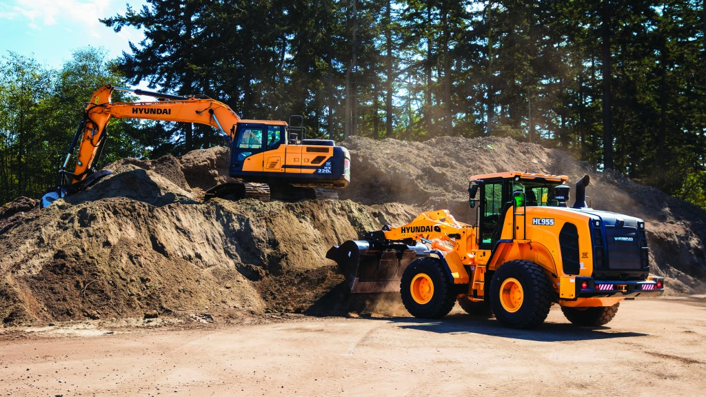 Hyundai harnessing range of innovative technologies for excavators and wheel loaders