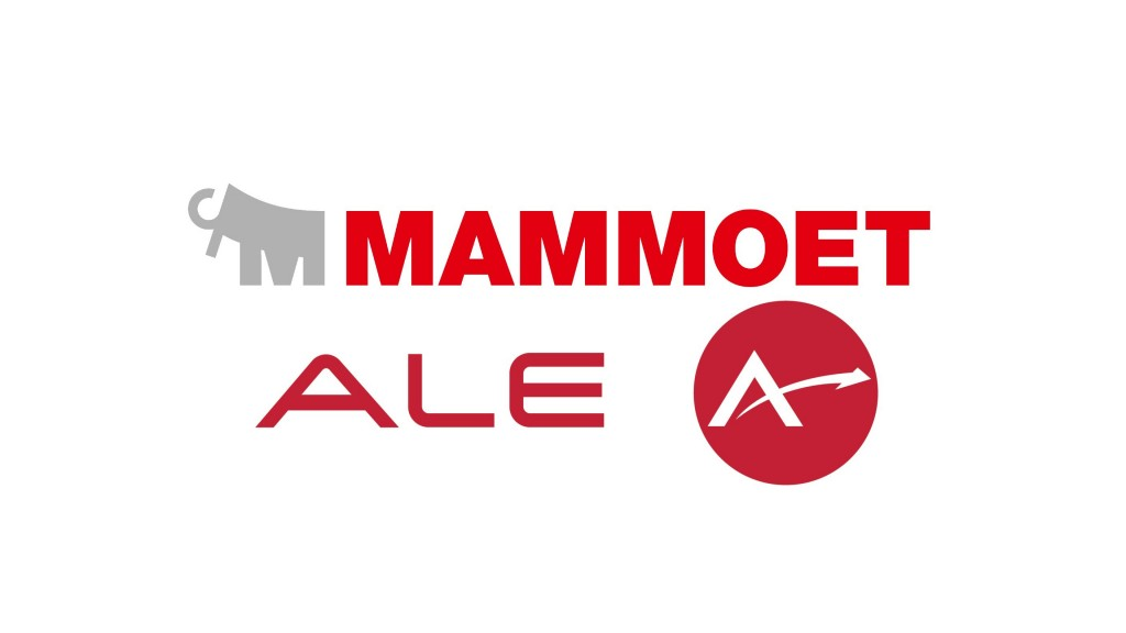 The closing of the transaction is subject to approval of the relevant competition authorities. Until that time, Mammoet and ALE will continue to operate strictly independently.
