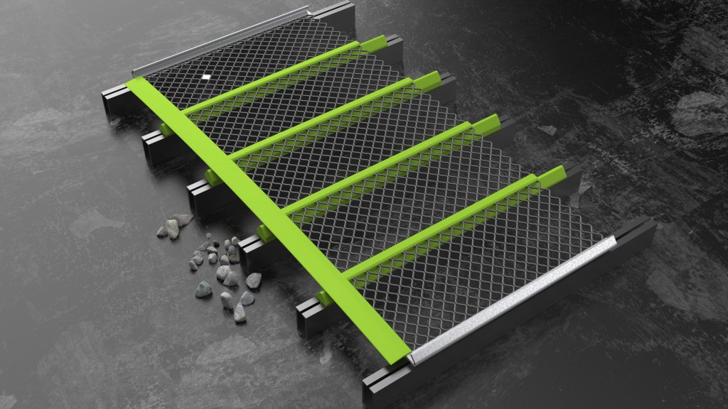 MAJOR's crown curve adaptors allow producers to modify a flat vibrating screen deck for use with tensional screen media and to try tensional screen media out without the time and expense of a deck conversion.