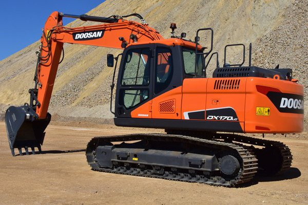 Doosan Infracore North America LLC - DX170LC-5 Excavators