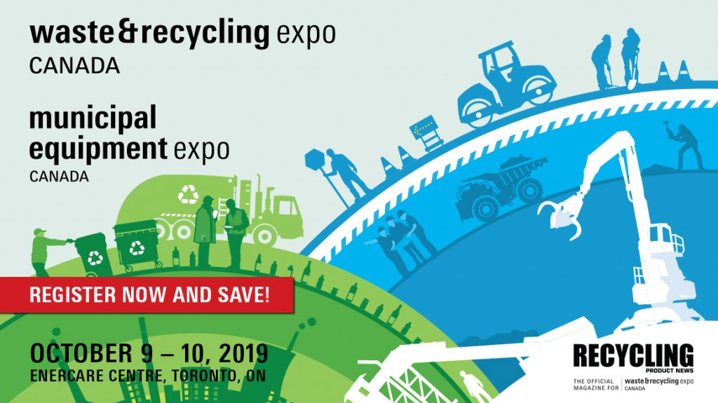 Register Now For the the 22nd edition of the Waste & Recycling Expo