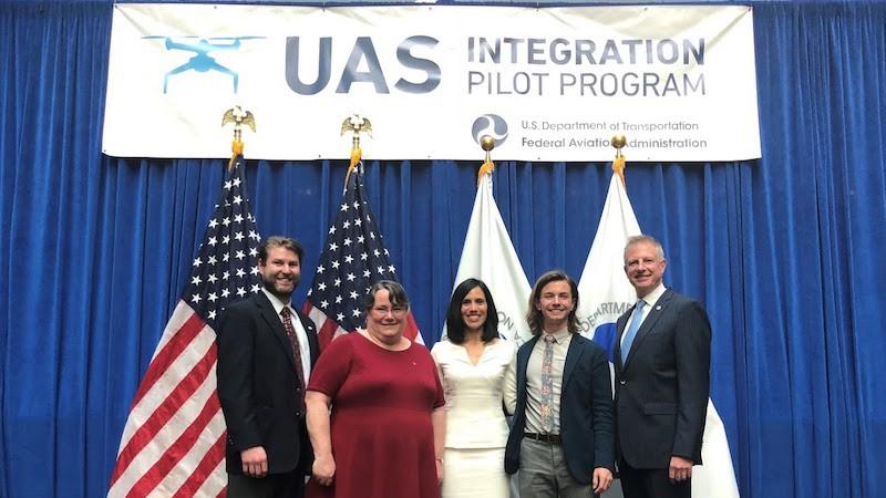 Alaska IPP team members attend the IPP announcement in Washington DC.