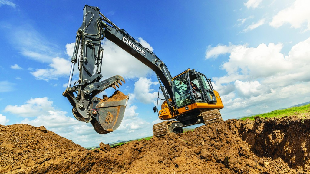 Machine learning combines with 3D grade control to add precision and speed to excavation