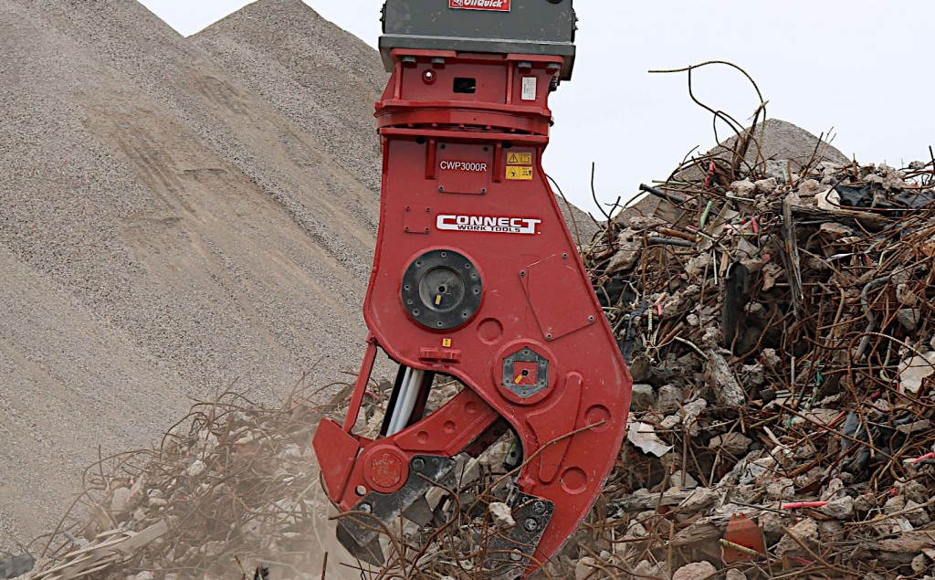 Connect Work Tools adds CWP Pulverizer to lineup of hydraulic attachments