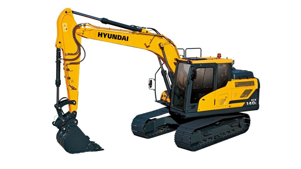 Hyundai Construction Equipment Americas Inc. - HX140L Excavators
