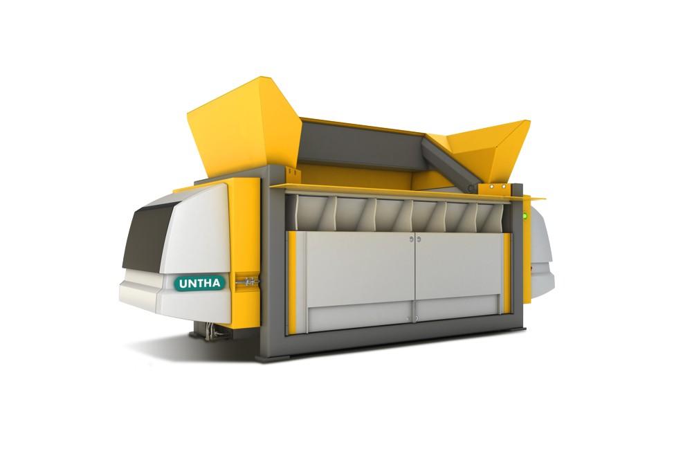 UNTHA Shredding Technology - XR2000/3000 Shredders