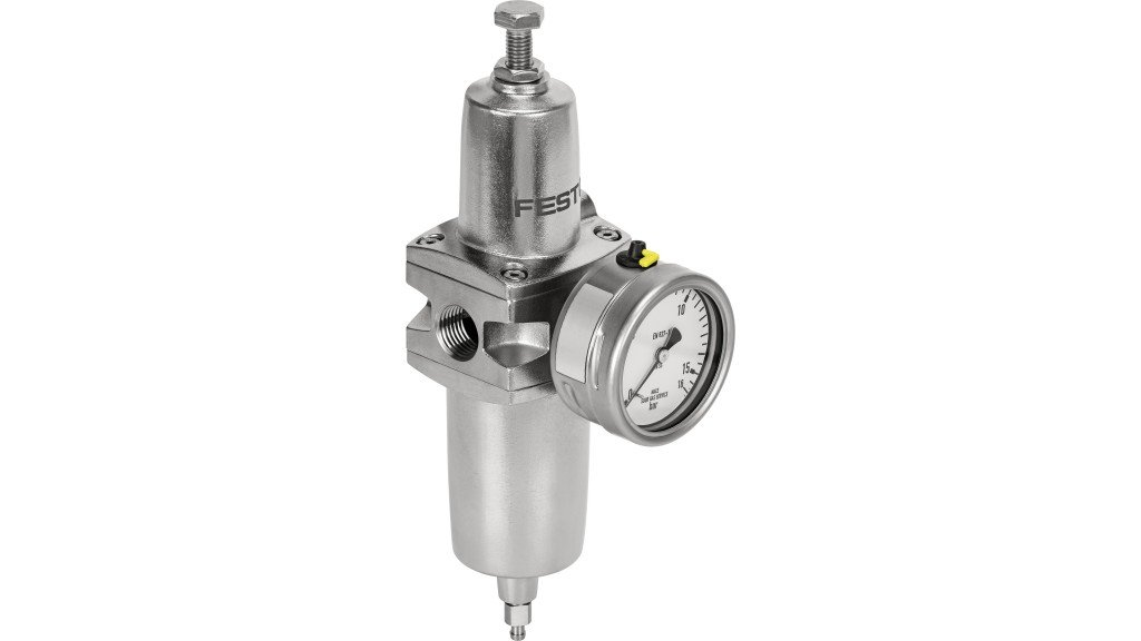 Festo's new PCRP filter regulator delivers high flow rates and reliable compressed air pressure control in a range of harsh environments.