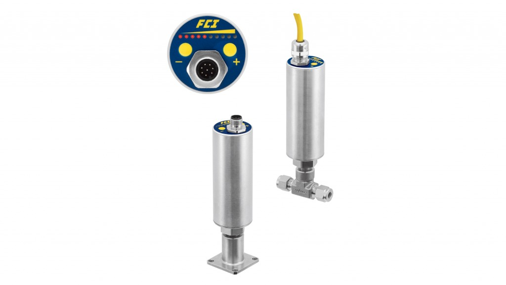 FCI's Model FS10A is a sophisticated universal flow switch and monitor specifically designed for gas and liquid process analyzer sampling systems.