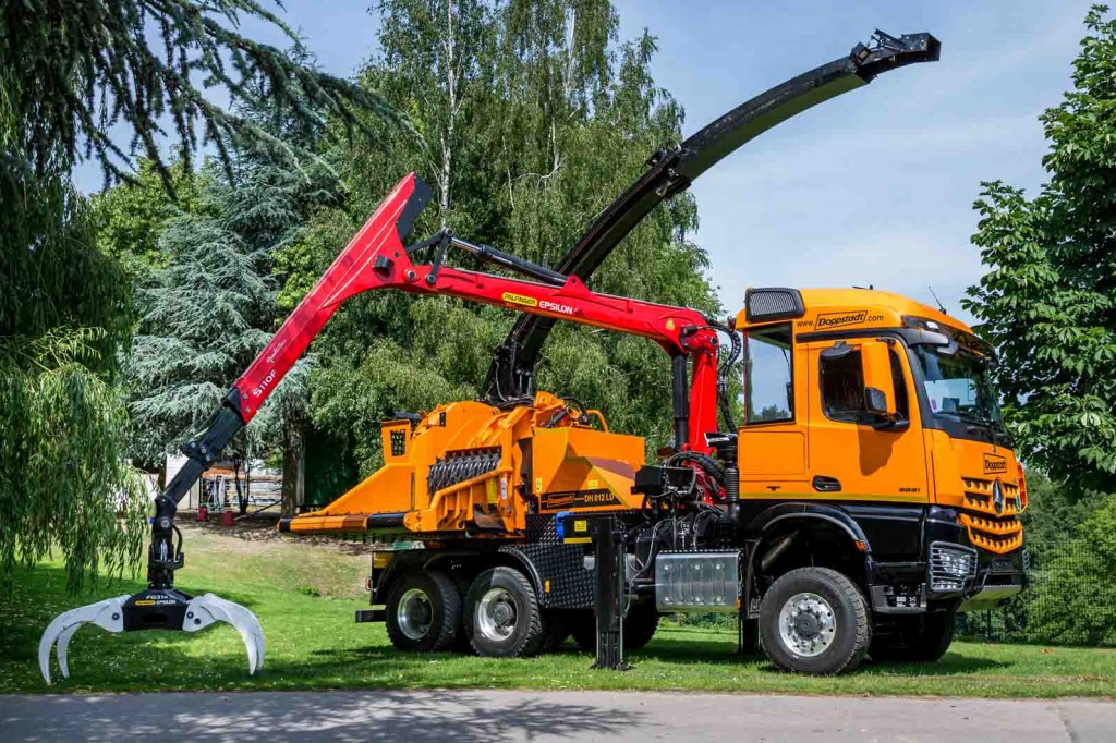 Doppstadt - DH 812 LD Chippers