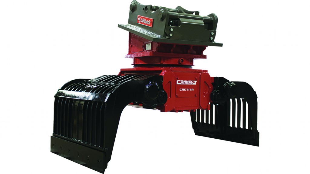 Connect Work Tools sorting grapples and pulverizers boast durable design