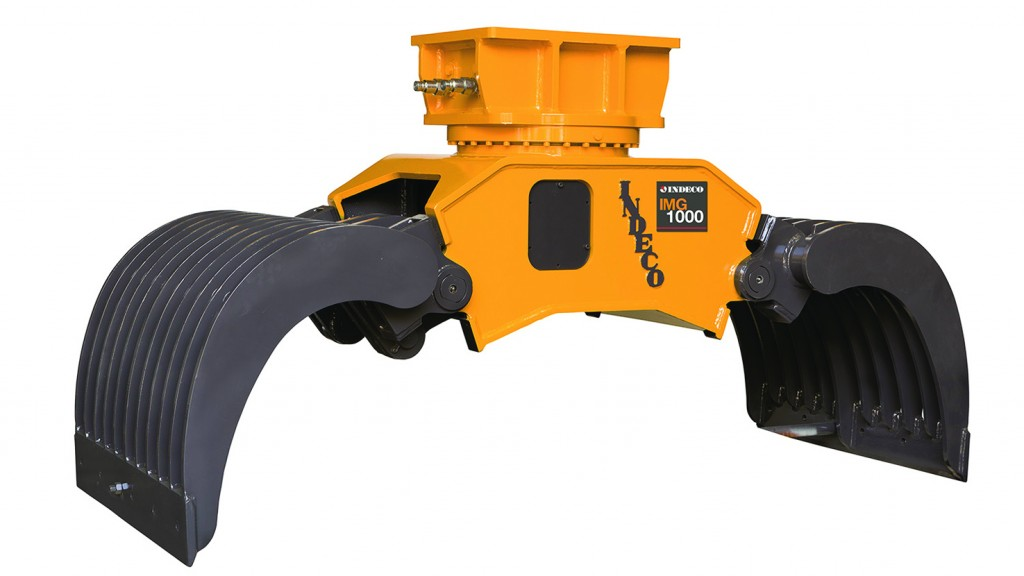 Multi-grabs and shears among range of Indeco attachments