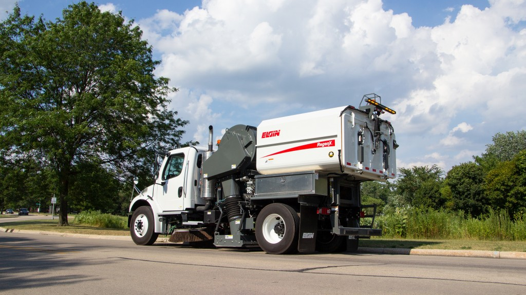 Elgin Sweeper announced the launch of the RegenX™ regenerative air street sweeper designed with the input of municipalities and contractors – including operators, service technicians, fleet managers and public works directors – from across the United States and Canada.
