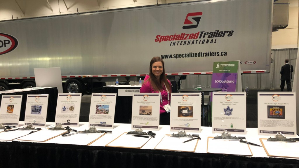 EREF of Canada to hold silent auction at Canadian Waste & Recycling Expo in October