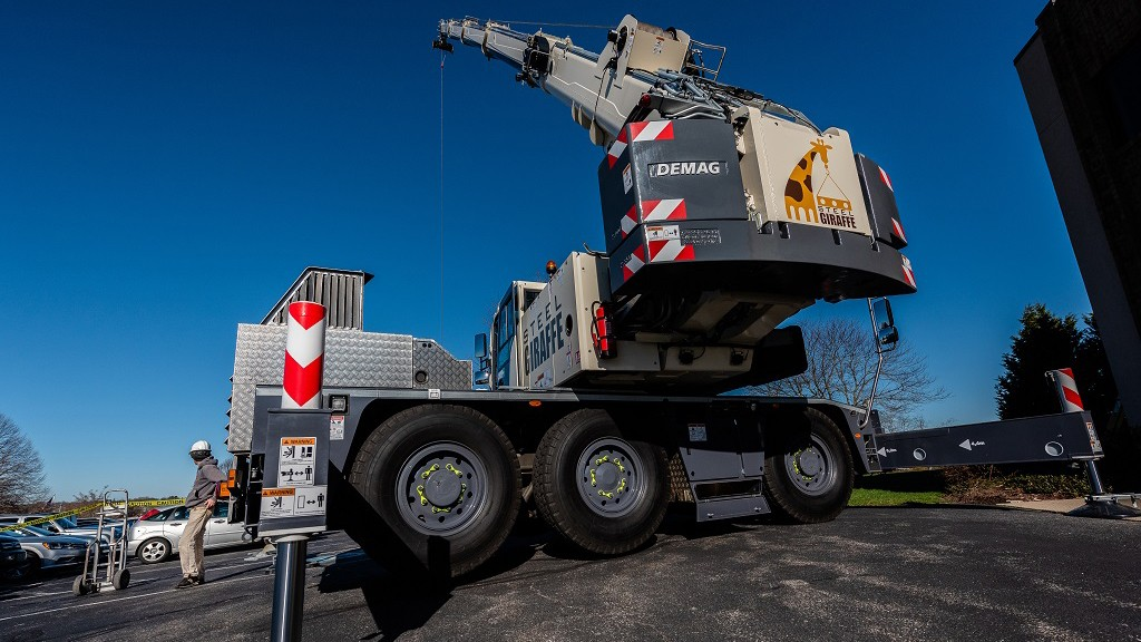 First Demag AC 45 City deployed in North America