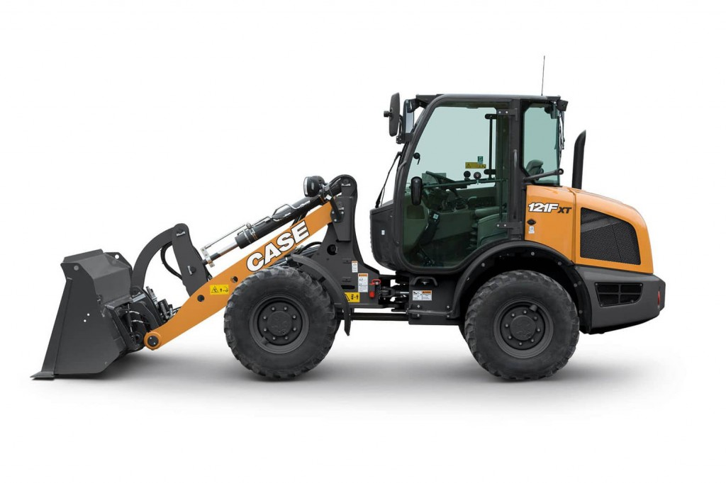 CASE Construction Equipment - 121F Compact Wheel Loaders