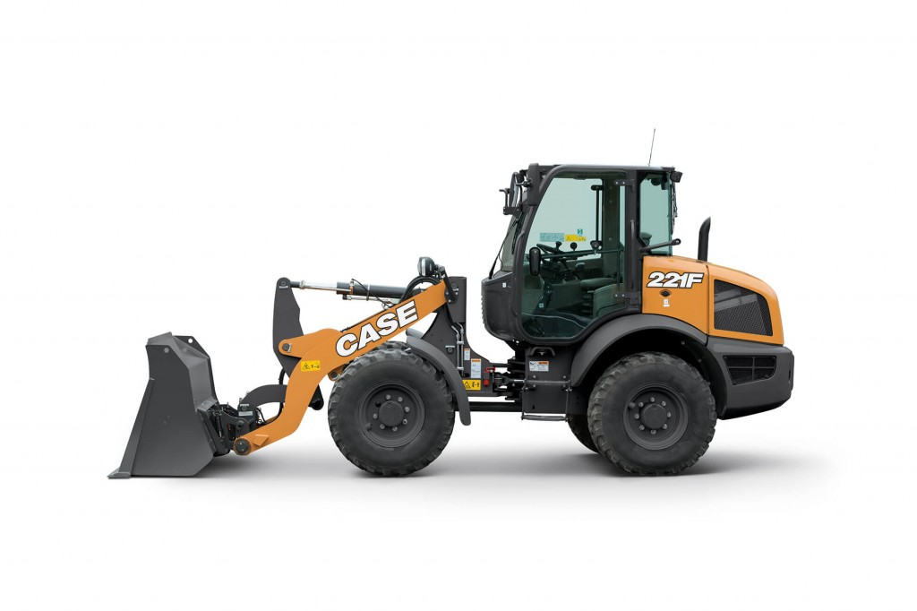 CASE Construction Equipment - 221F Compact Wheel Loaders