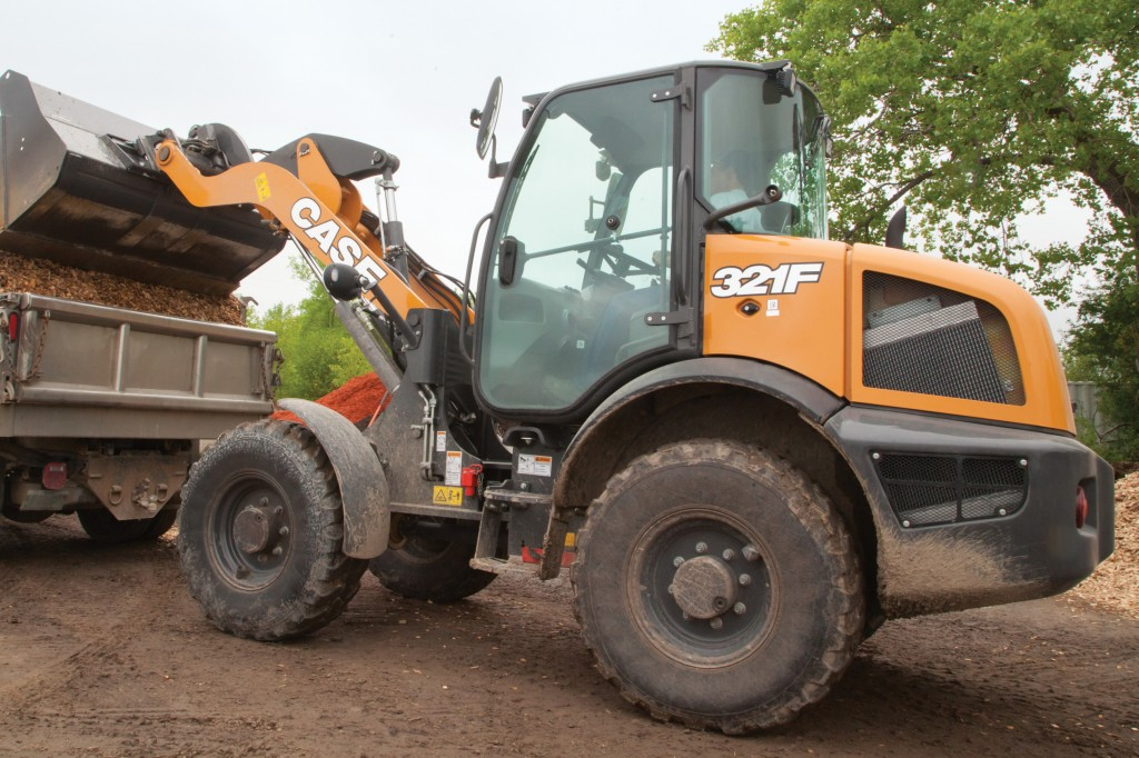 CASE Construction Equipment - 321F Compact Wheel Loaders