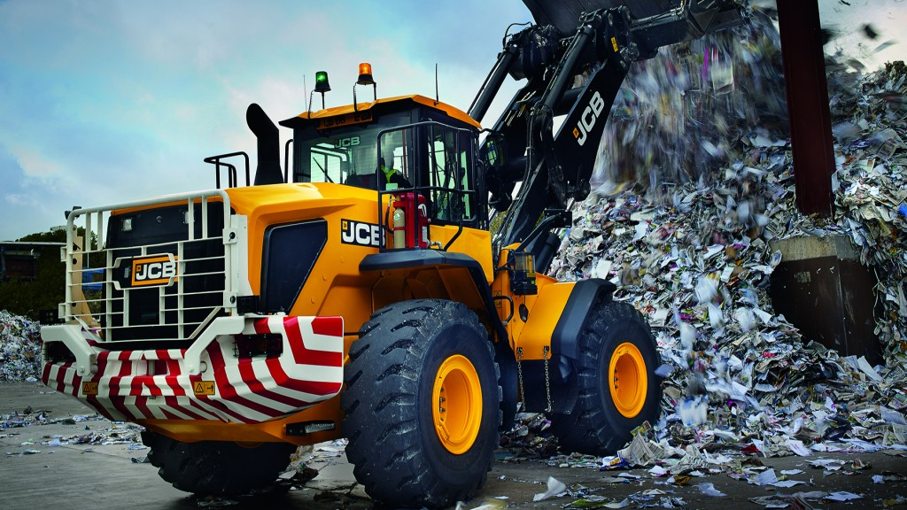 A new high-lift (HL) loader arm option is now an available option for the JCB 457HT, the largest JCB wheel loader offered in North America.