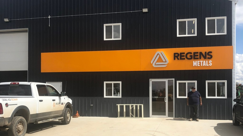 Len Rody, operation manager, outside Regens Metals in Estevan, Saskatchewan.