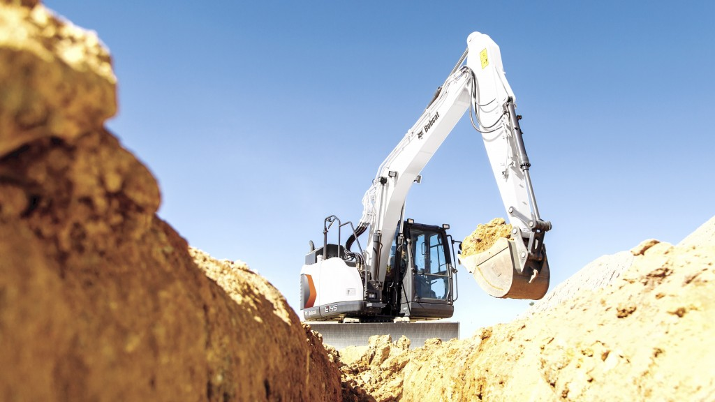 Bobcat introduces its largest excavator ever