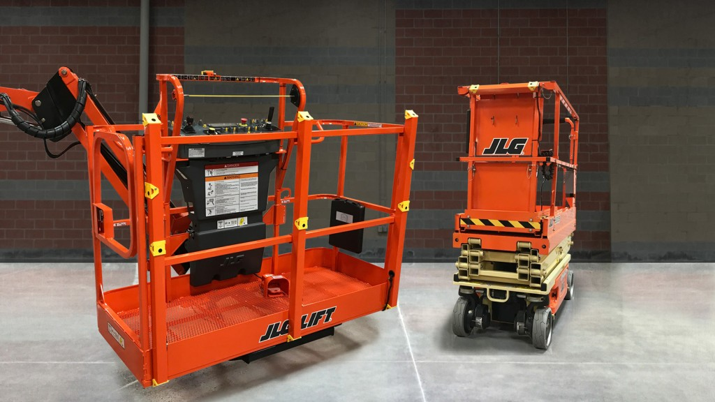 """JLG is committed to discovering new ways to enhance the safer use of our machines,"" said Rafael Nunez, JLG senior product manager for scissor, vertical and low-level access lifts."