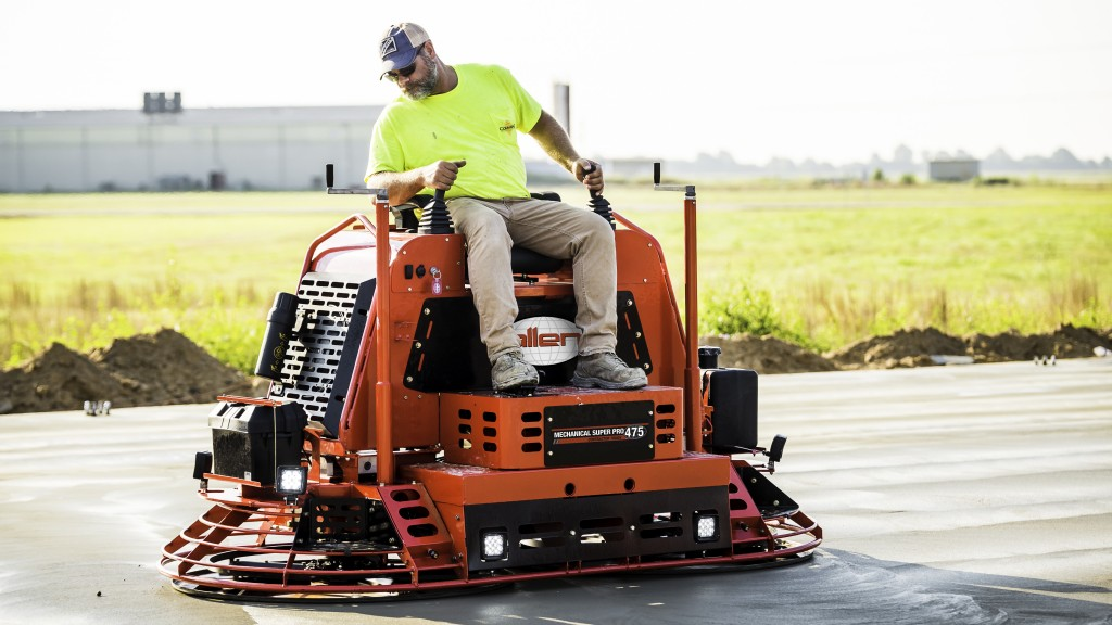 The MSP475 was designed with the high volume flat work concrete contractor in mind.