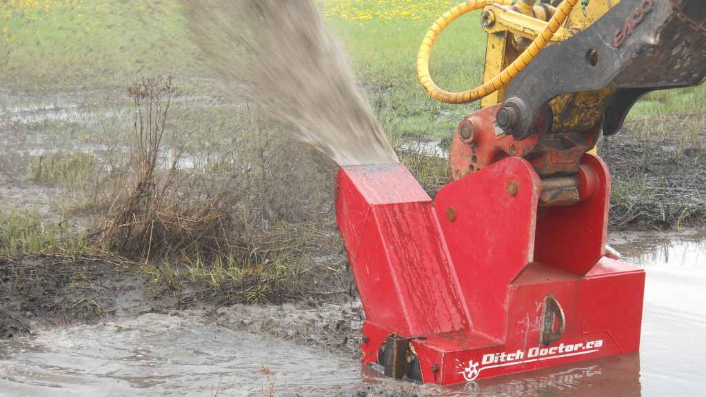 New Jersey-based Ransome Attachments has become the first and only distributor to offer the Ditch DoctorTM in the United States.