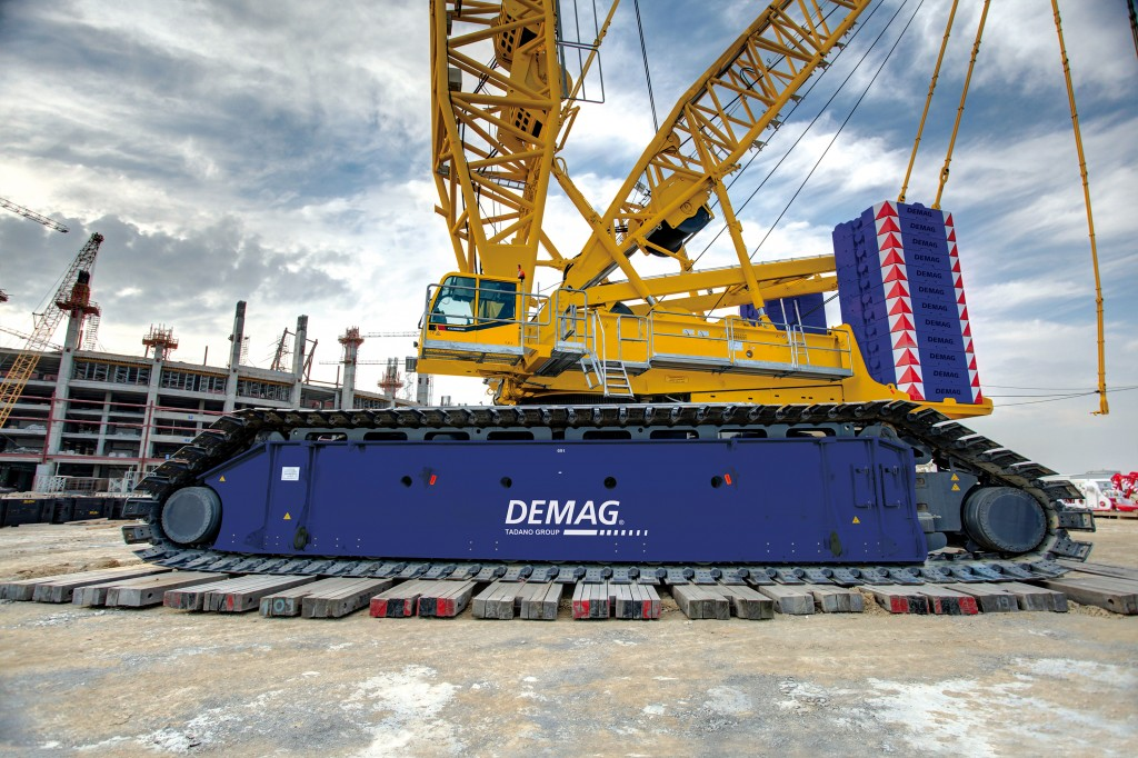 Addition of Demag crane nearly doubles Superior Cranes lifting capacity