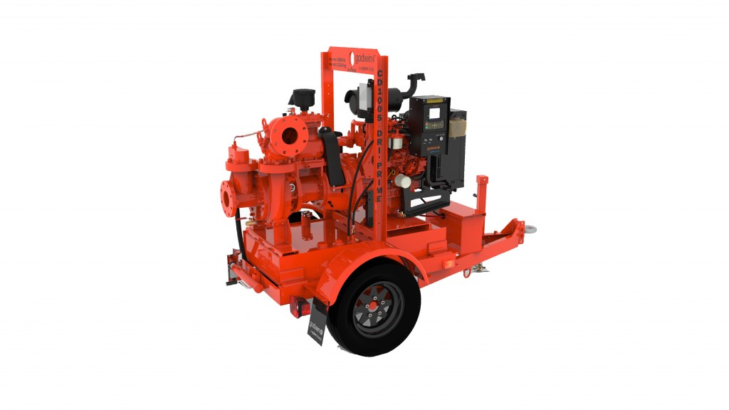 The Godwin CD100S is ideal for utility and construction applications, as well as emergency response dewatering.