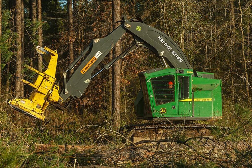 John Deere Construction & Forestry - 803M Harvesting Heads