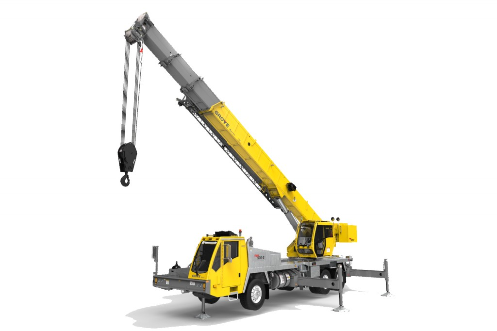 Manitowoc Company, Inc - TMS500-2 Truck Mounted Cranes