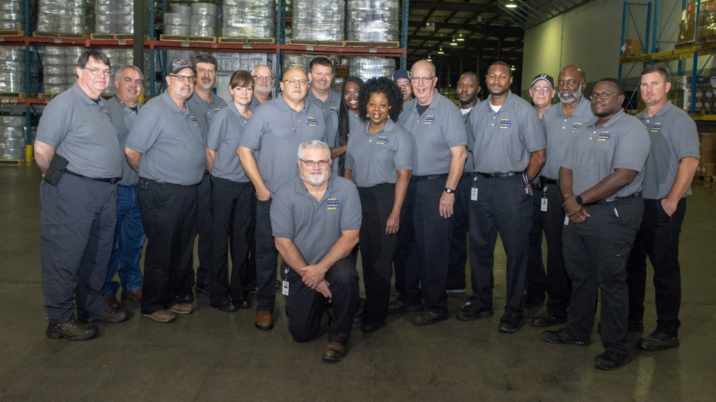 The 225,000-square-foot facility and 135,000-square-foot warehouse in Oxford are home to the company's top-of-the-line production equipment, used to engineer precured rubber tread, cushion and chemical materials that are used in the retreading process.