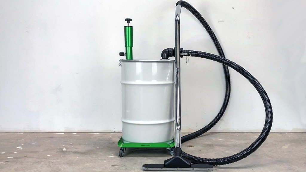 Innovative Kleenvac turns any drum into a wet vacuum for industrial spills cleanup