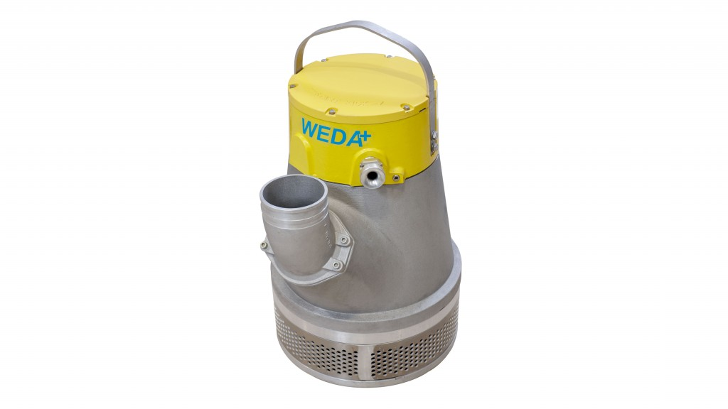 """""""WEDA pumps are not only durable, but also built for ease of use and service. The unique sealing system and modular design make them among the most flexible pumps on the market,"""" said Joe Moser, director of business development pumps at Atlas Copco."""