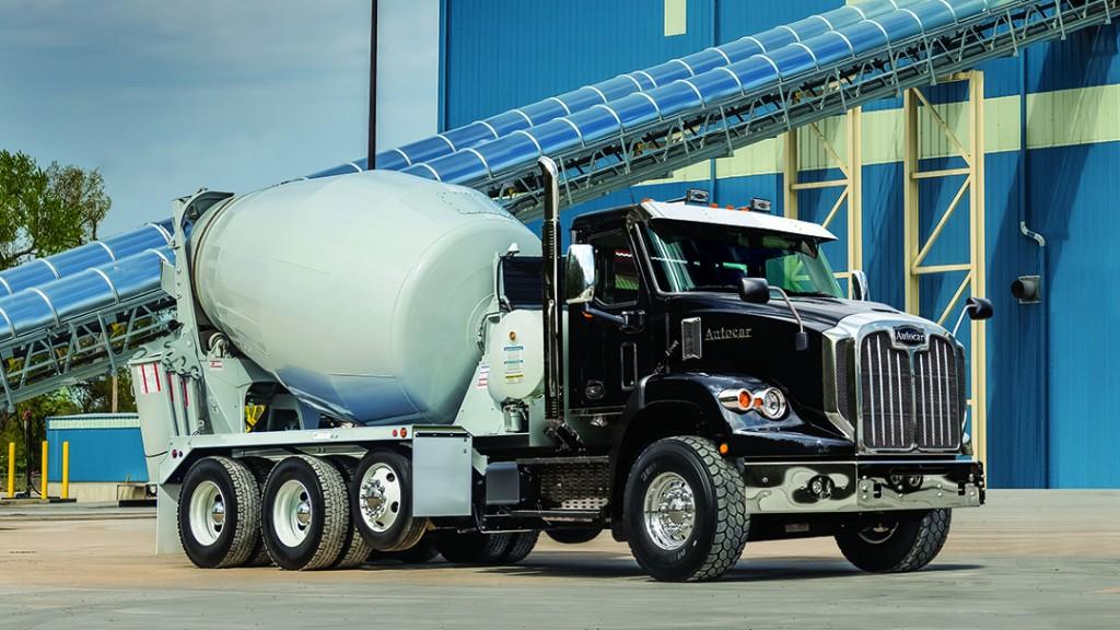 Autocar releases new concrete mixer and concrete pump truck models