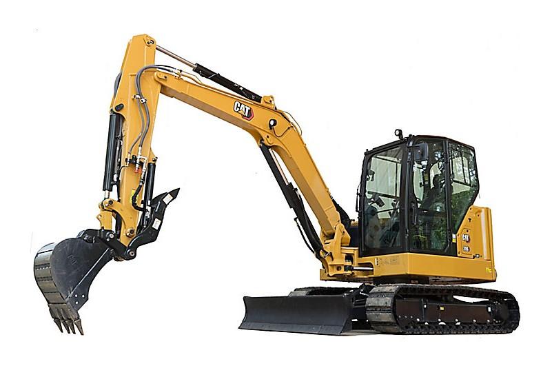 Caterpillar Inc. - 306 CR Mini Excavators