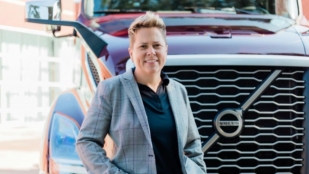 Christina Ameigh, regional vice president, western region with Volvo Trucks North America.