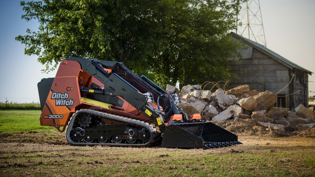 As the largest and most powerful unit in the Ditch Witch family of stand-on skid steers, the SK3000 features an operating capacity of 3,100 pounds - 50% more than its closest competitor.