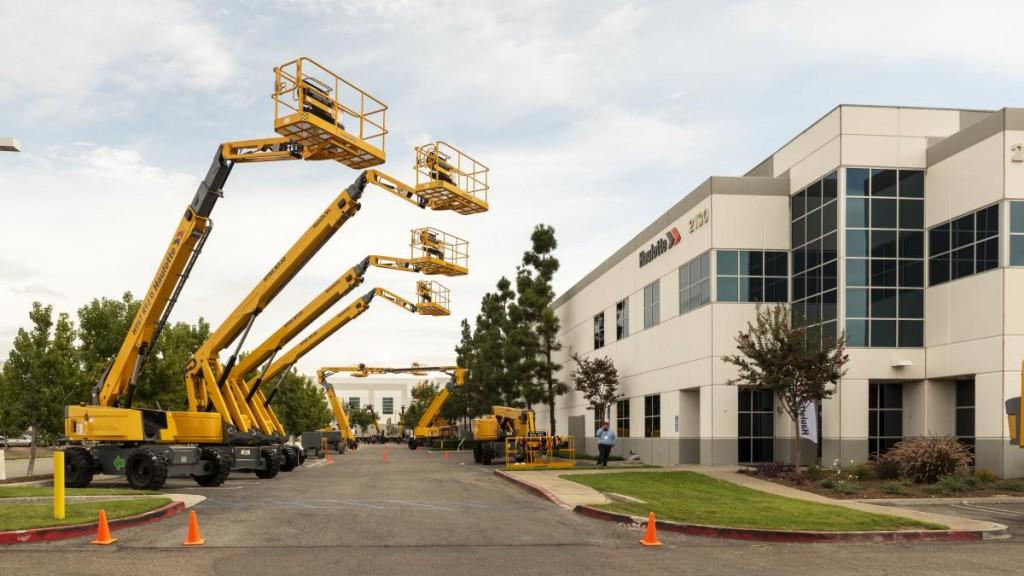 Haulotte inaugurates new California branch