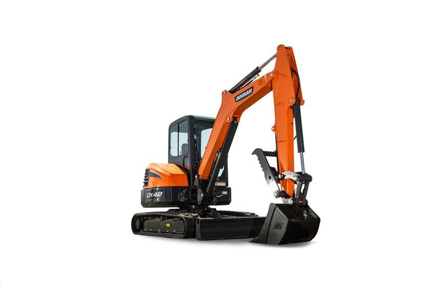 Doosan Infracore North America LLC - DX42-5 Mini Excavators