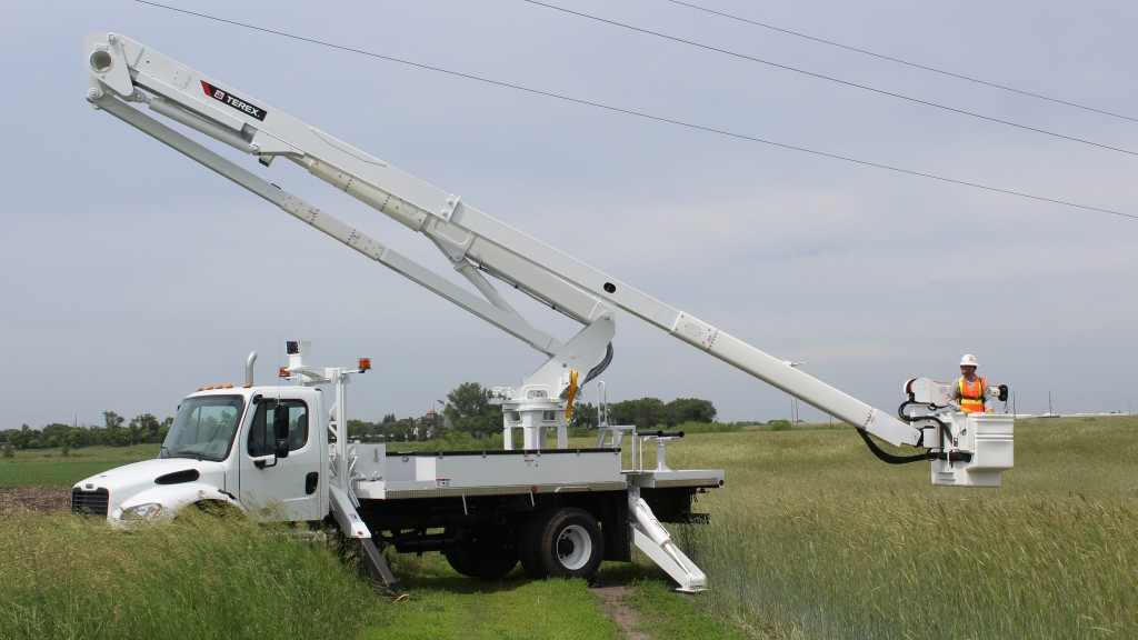 New TL Transmission aerial devices from Terex Utilities were developed to have strong working ranges when compared to similar transmission aerials.