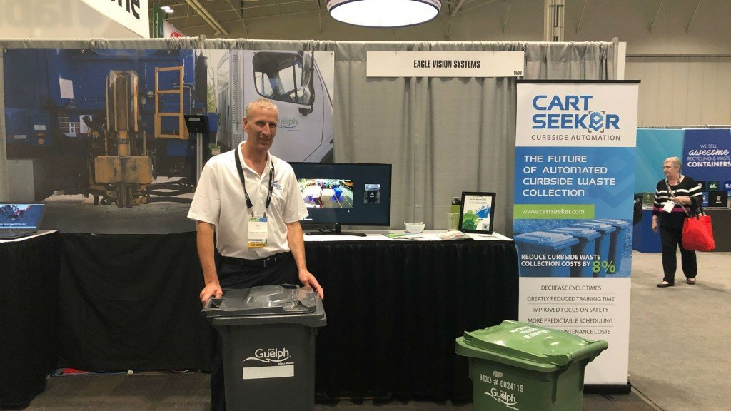 On the CWRE 2019 show floor with Eagle Vision Systems